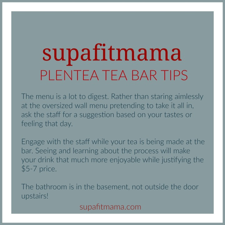 Plentea Tea Bar Tips